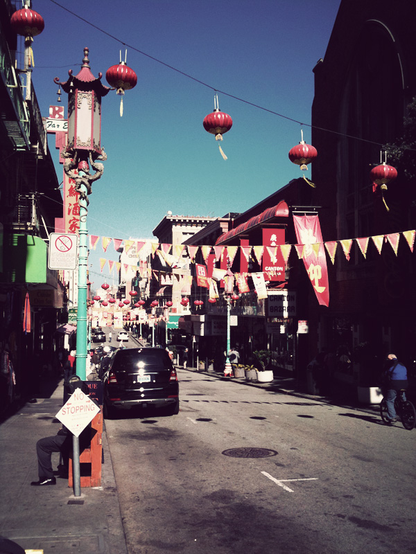 First time in Chinatown.